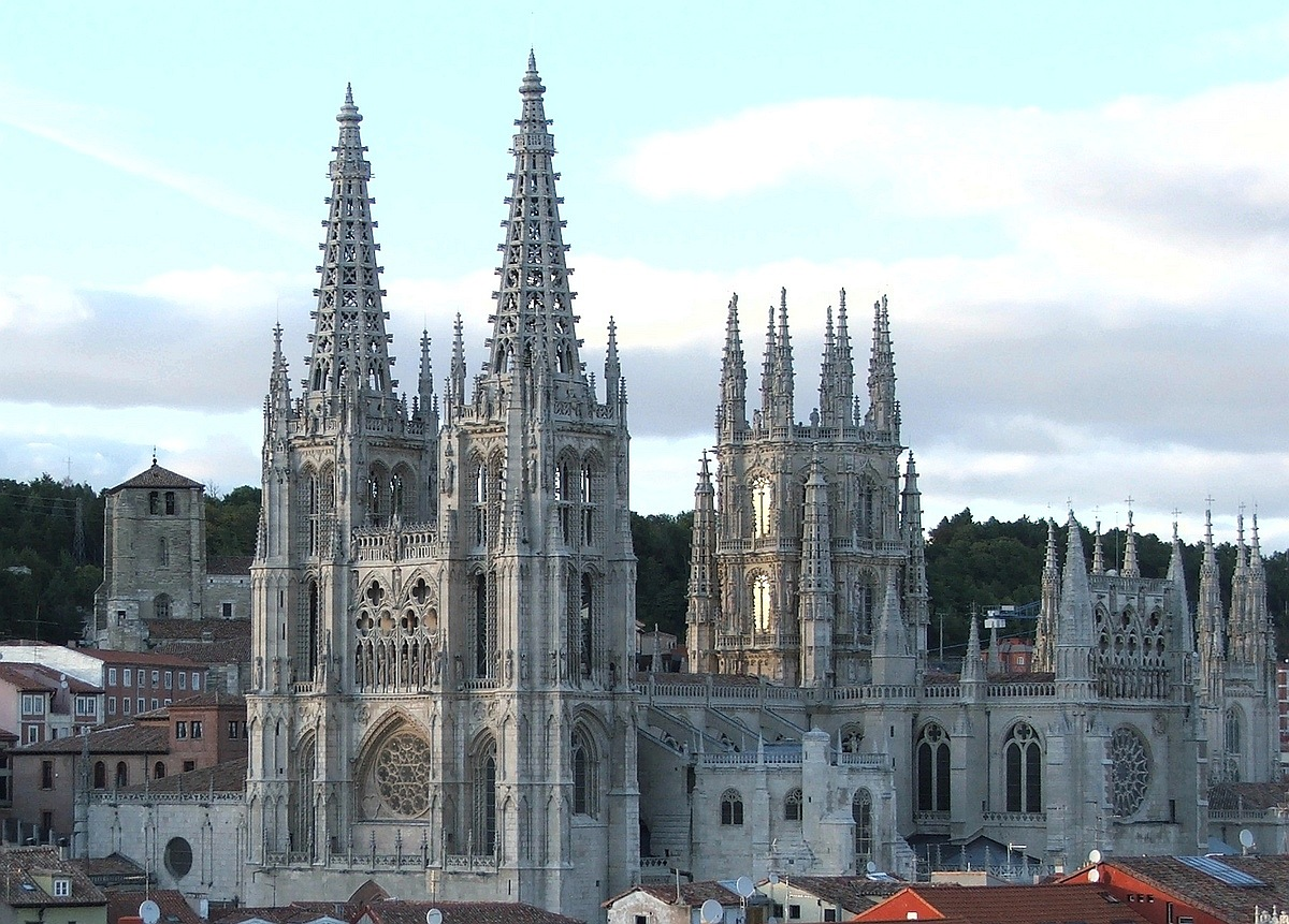 Бургос, Іспанія. Бургоскi сабор: Catedral de Burgos.
