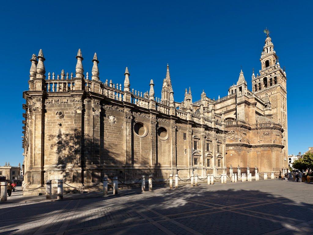 Севілья, Іспанія. Севільскі кафедральны сабор: Catedral de Sevilla.