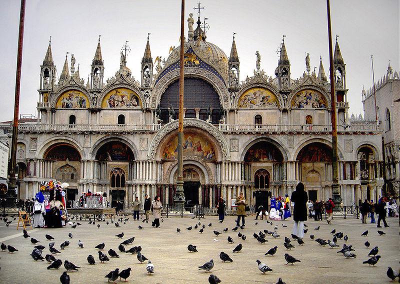 Венецыя, Італія. Венецыянская базыліка: Basilica di San Марсо.