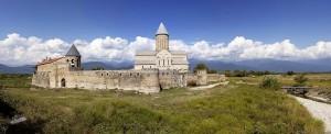 Грузія. Саборы Алавердзі - галоўныя святыні Кахетыі.
