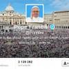 профіль Папы на Twitter
