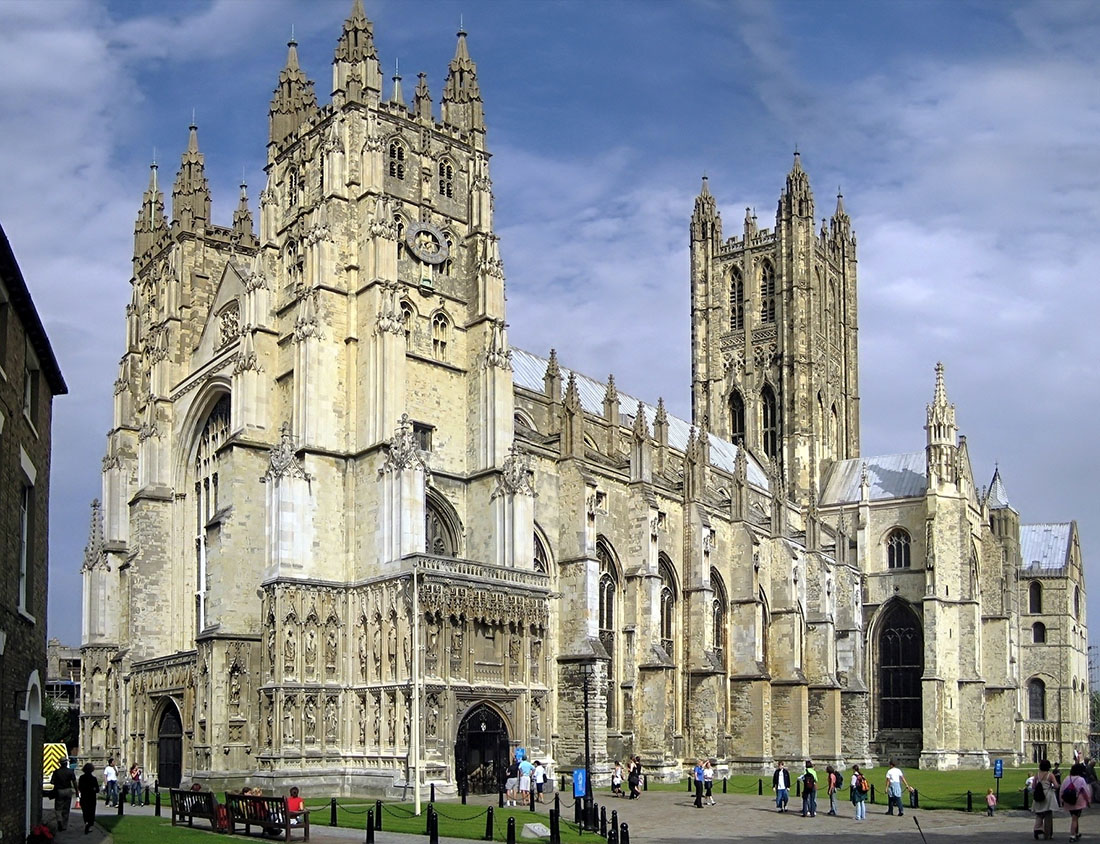Ёрк, Англія. Ёркскі сабор: York Minster.