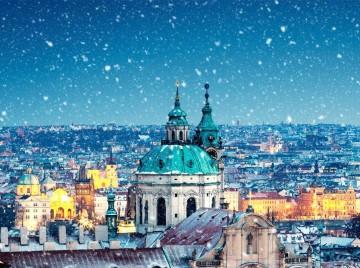 Прага. Каляды.